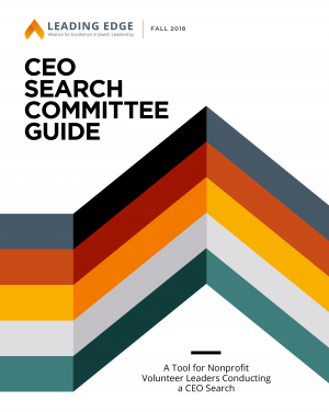 Leading Edge CEO Search Committee Guide