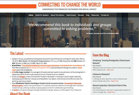 Harnessing the Power of Networks for Social Impact Connecting to Change the World
